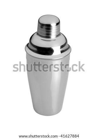 cocktail shaker - stock photo