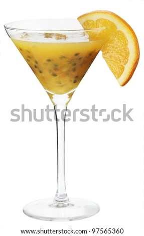 Cocktail vitamin - stock photo