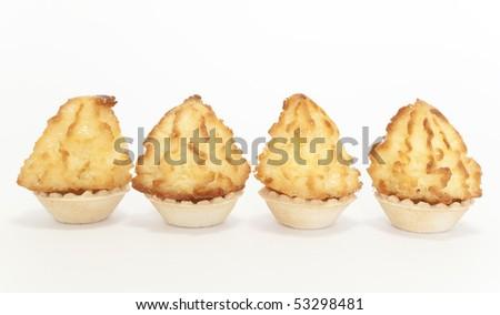 Coconut biscuits - stock photo