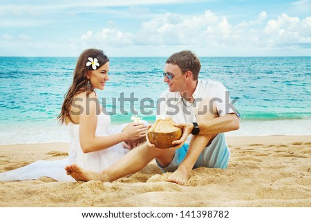 coconuts and the couple