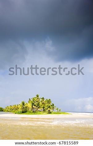 Cocos Bay, Trinidad - stock photo