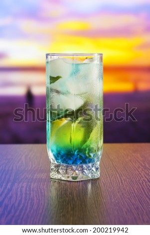 coctail - stock photo