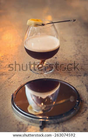 coffe cocktail drink