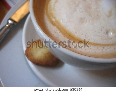 Coffe latte - stock photo