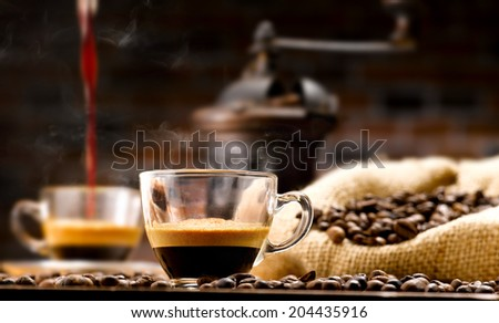 coffee' - stock photo