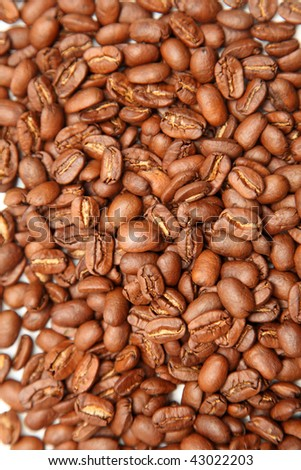 coffee beans can serve as background