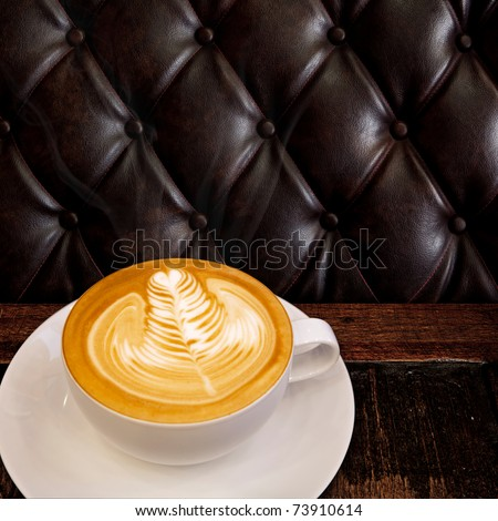 Coffee Cup on the Table - stock photo