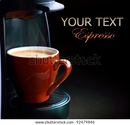 Coffee Espresso - stock photo