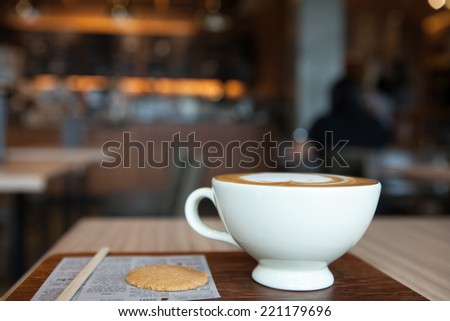 Coffee for serve - stock photo