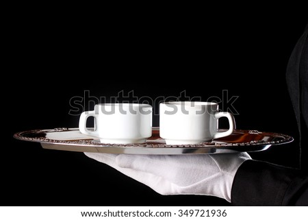 Coffee for two - stock photo