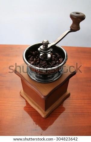 coffee grinder - stock photo