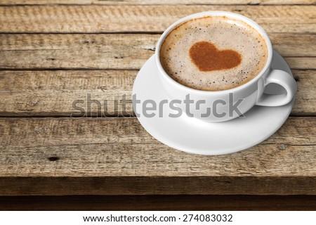 Coffee. I love Coffee - stock photo