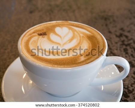 Coffee Art Love Heart