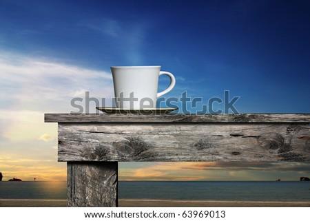 Coffee morning - stock photo