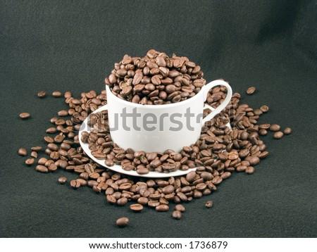 Coffee Overflow - stock photo