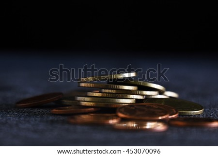 Coin in the Dark Light