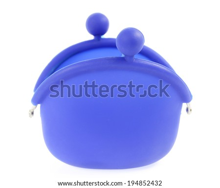 Coin Purse with clasp - stock photo