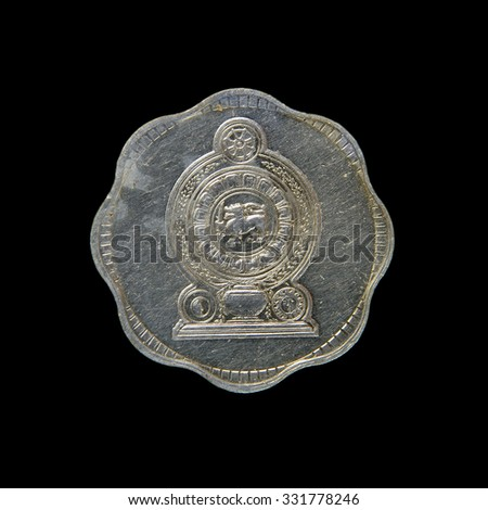 Coin Sri Lanka ,  Ceylon - stock photo