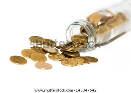 Coins in the Bottle