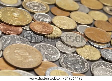 Coins, Money  - stock photo