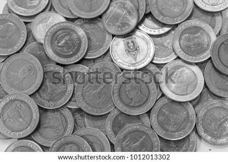 Coins of Thailand., Thai ten baht coin.