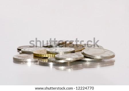 coins or money