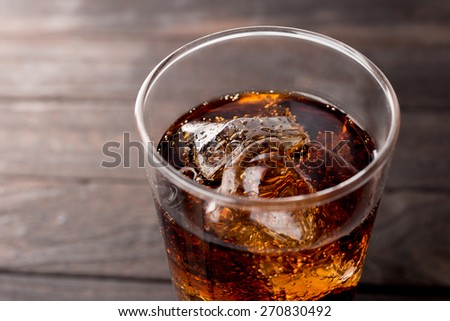 cola - stock photo