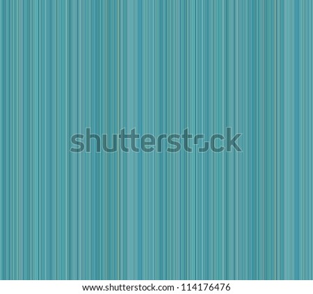 Cold-color background of pinstripes, primarily in shades of blue and green, such as teal and cyan. Can be oriented horizontally or vertically. - stock photo
