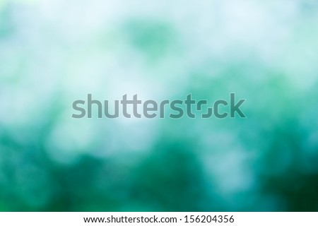 cold defocused blue background, winter or water - stock photo
