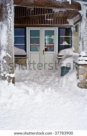 Cold winter - stock photo