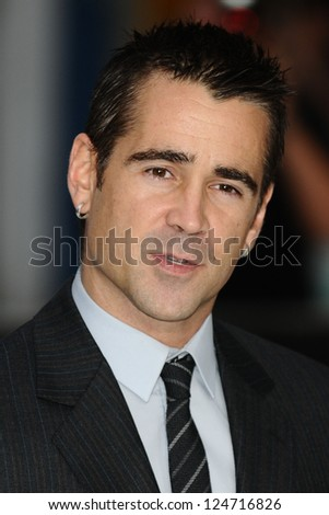 Colin Farrell arriving for the Total Recall Premiere, at Vue West End, Leicester Square, London. 16/08/2012 Picture by: Steve Vas