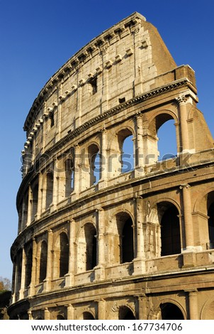 Coliseum, Rome, Italy - stock photo