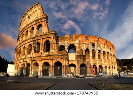 Coliseum rome italy stock photo edit now 178749935 shutterstock coliseum rome italy publicscrutiny Images