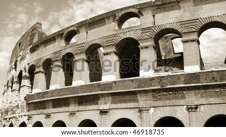 Colisseum, Rome, Italy - stock photo