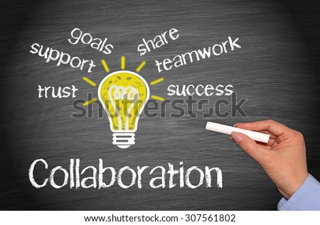 Collaboration - Business Concept