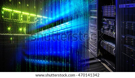 collage information technology in the data center, the binary matrix code