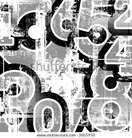 collage numbers