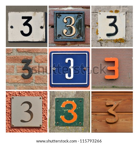 Number 3 Stock Images, Royalty-Free Images & Vectors | Shutterstock