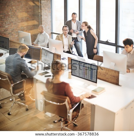 Colleagues Creative Design Planning Strategy Office Concept - stock photo