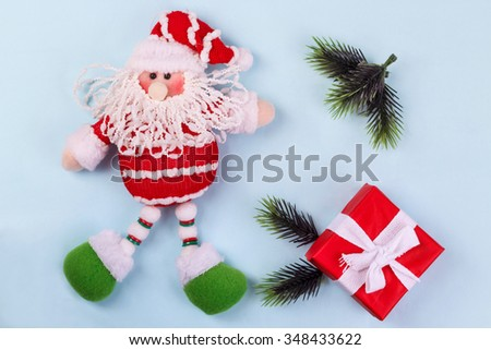 collection of items on Christmas theme