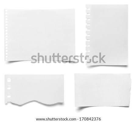Note Paper Isolated Photos RoyaltyFree Images Vectors – Collection Note