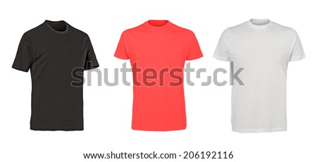 collection of various t shirts