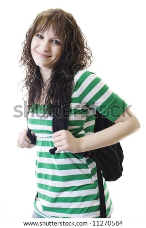 College Student - stock photo