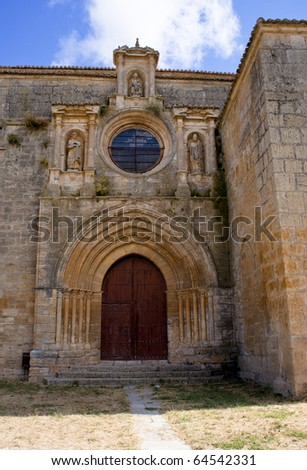 Collegiate Church of Nuestra Senora del Manzano, Castrojeriz - Spain