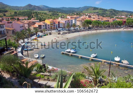 Collioure, Roussillon region of France