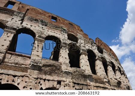Colloseum, Rome, Italy - stock photo