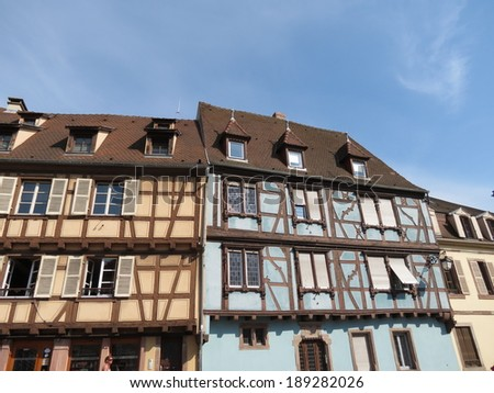 Colmar - late medieval houses