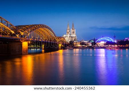 Cologne - stock photo