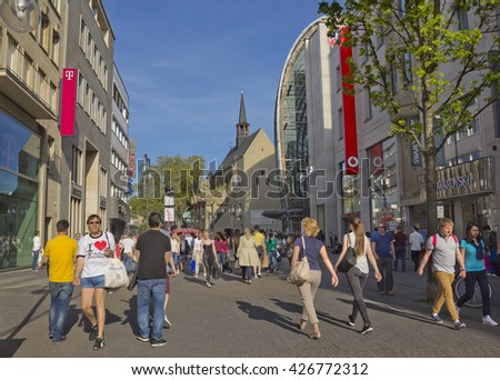 cologne city center stock images royalty free images vectors shutterstock. Black Bedroom Furniture Sets. Home Design Ideas
