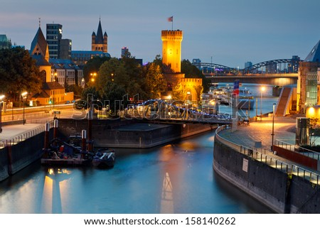 COLOGNE IN GERMANY - stock photo